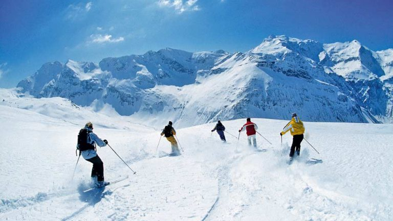 Бад Гаштайн, Австрия, Горные лыжи