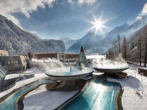 Австрия, Горы, Зельден, Отель Альпина, Горные лыжи