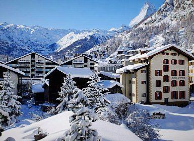 Горные лыжи в Швейцарии